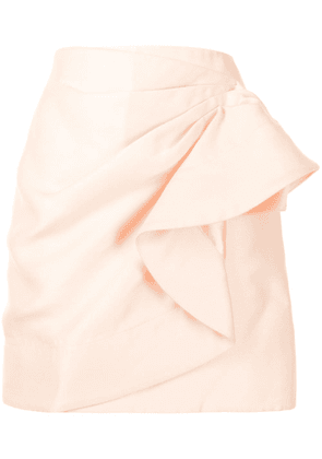 Acler Darcher ruffle-embellished mini skirt - Pink