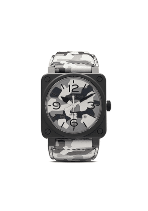 Bell & Ross BR 03-92 42mm watch - GREY AND WHITE