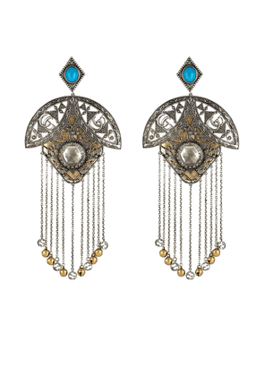 Gucci GG Marmont fringe earrings - Metallic