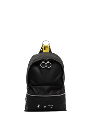 Off-White industrial straps mini backpack - Black