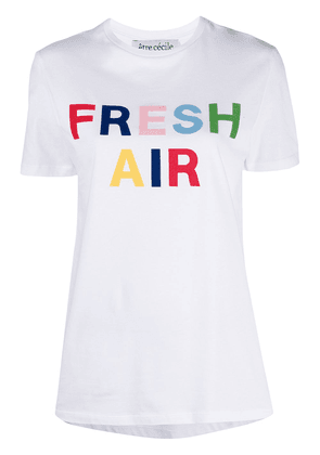 Être Cécile Fresh Air T-shirt - White