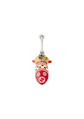Gucci x Disney rocket charm single earring - Silver
