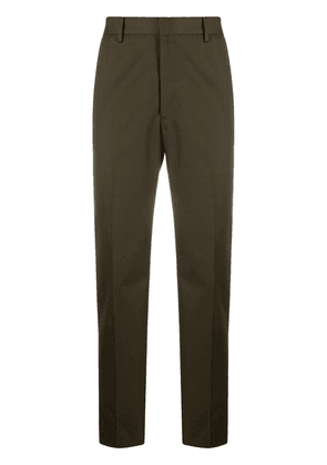 Acne Studios straight-leg tailored trousers - Green