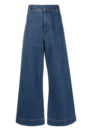 Être Cécile high waisted flared jeans - Blue