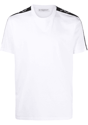 Givenchy logo tape cotton T-shirt - White