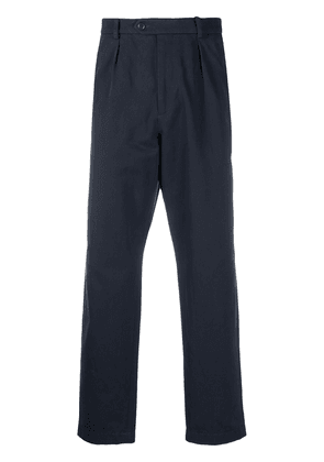 Gucci high-waist tailored trousers - Blue