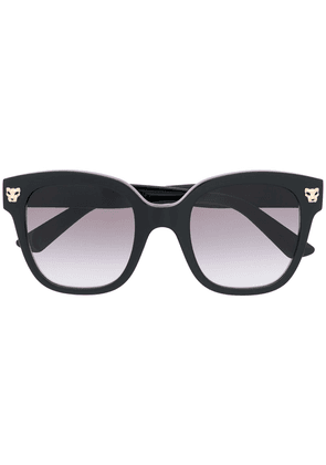 Cartier Eyewear square-frame sunglasses - Black