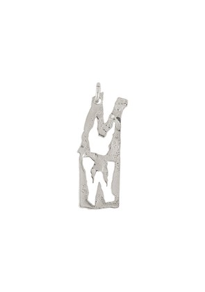 Acne Studios M-shaped pendant - Silver