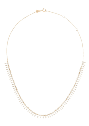 Adina Reyter 14K yellow gold Half Riviera diamond necklace