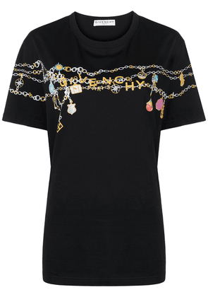 Givenchy Charms logo-print T-shirt - Black