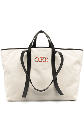 Off-White Commercial tote bag - Neutrals