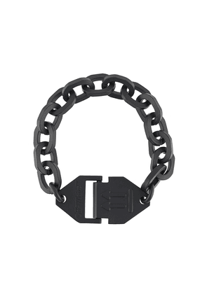 Off-White Hexnut chain bracelet - Black