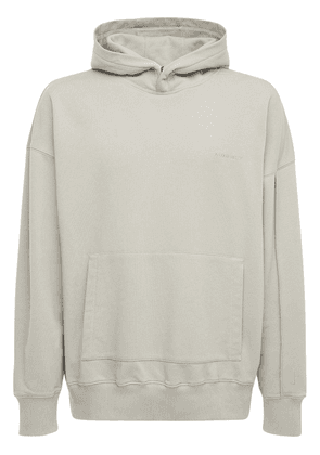 Dissection Cotton Jersey Hoodie