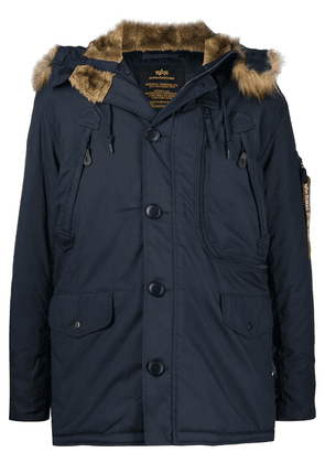 Alpha Industries Polar padded jacket - Blue