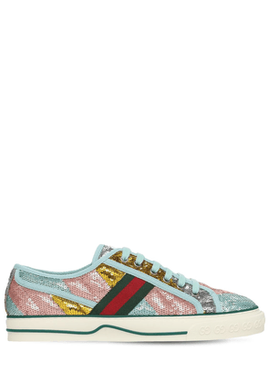 15mm Gucci Tennis 1977 Sequin Sneakers
