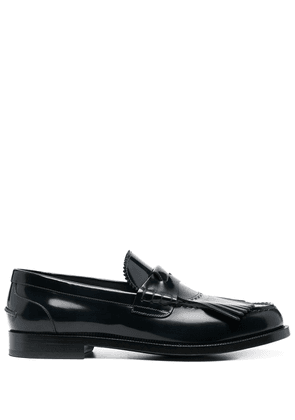 Burberry fringed penny loafers - Blue