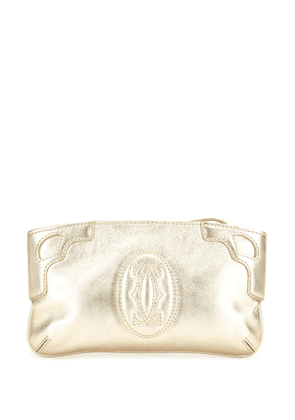 Cartier pre-owned clutch bag - GOLD