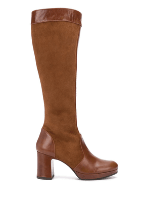 Chie Mihara Heral knee length boots - Brown