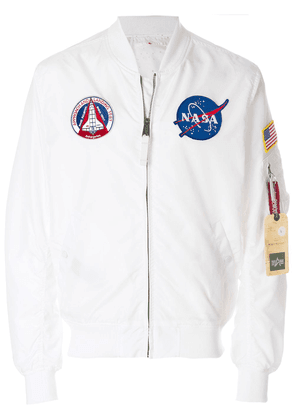 Alpha Industries MA-1 bomber jacket - White