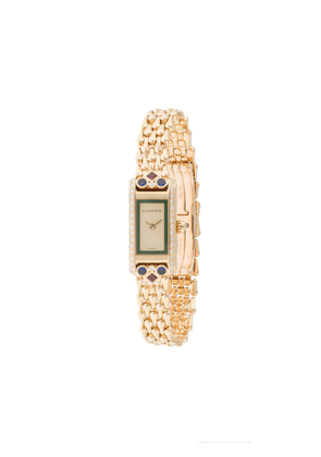 Cartier pre-owned Tank Allongee 17mm - GOLD