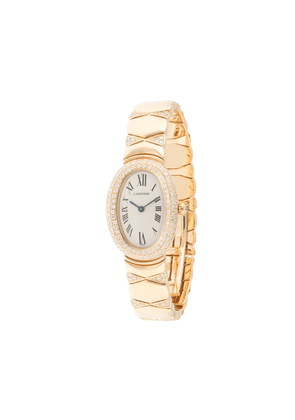 Cartier pre-owned Baignoire 20mm - GOLD