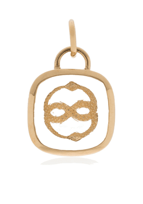 Foundrae 18kt yellow gold statement charm