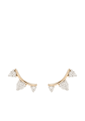 Adina Reyter Amigos 14-karat gold diamond earrings