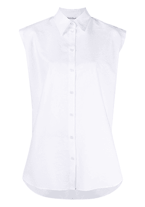 Acne Studios cap sleeve shirt - White