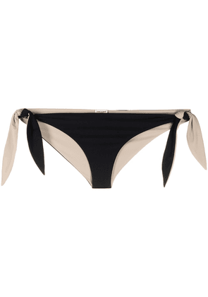 Saint Laurent two-tone bikini bottom - Black