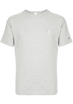 Champion embroidered logo crew neck T-shirt - Grey