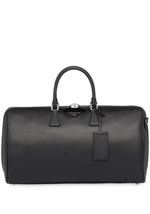 Prada Saffiano leather duffle bag - Black