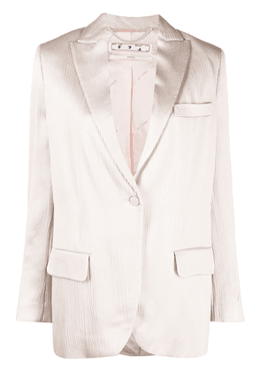 Off-White Tomboy single-breasted blazer - Pink
