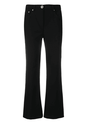 Boutique Moschino mid-rise bootcut jeans - Black