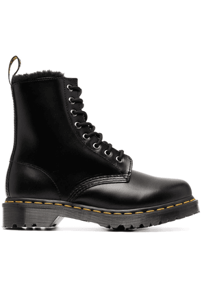 Dr. Martens lace-up leather boots - Black