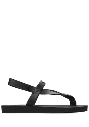 20mm Leather & Rubber Sandals