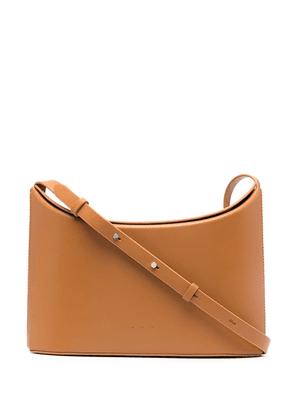 Aesther Ekme Sway leather crossbody bag - Neutrals