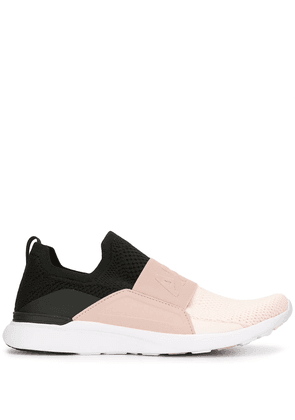 APL: ATHLETIC PROPULSION LABS colour-block slip-on trainers - PINK