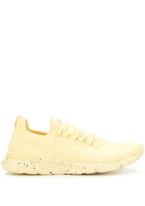 APL: ATHLETIC PROPULSION LABS lace-up low-top trainers - Yellow