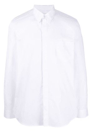 Givenchy button-front long sleeve shirt - White