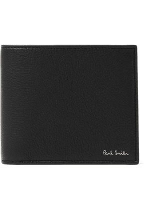 PAUL SMITH - Full-Grain Leather Billfold Wallet - Men - Black
