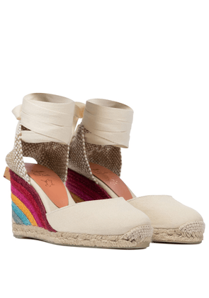 x Paul Smith Carina wedge espadrilles