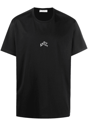 Givenchy embroidered logo T-shirt - Black
