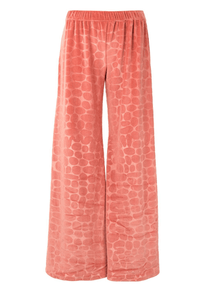 Alexis Reman printed trousers - PINK