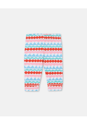 Stella McCartney Kids Multicolour Graphic Striped Leggings, Unisex, Size 1-3