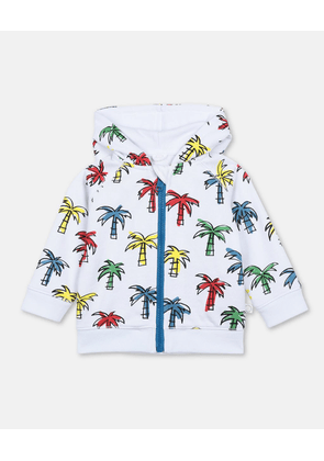 Stella McCartney Kids Multicolour Doodly Palms Cotton Hoodie, Unisex, Size 1-3