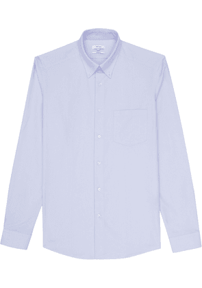 Reiss Ainslee Slim - Slim Fit Brushed Oxford Shirt in Soft Blue, Mens, Size S