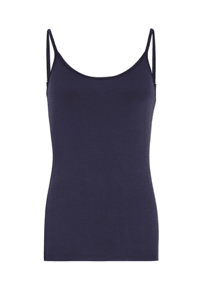 Reiss Samellia - Jersey Cami Top in Navy, Womens, Size XS