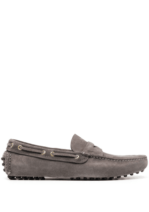 Car Shoe The Original leather loafers - Grey