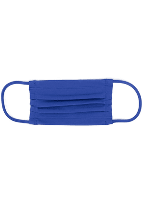 Styland pleated face mask - Blue