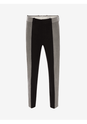 ALEXANDER MCQUEEN Panelled Tailored Trousers - Item 615259QPU721000